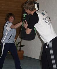 Kampfsport Training