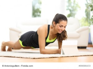 Training mit Fitness Apps