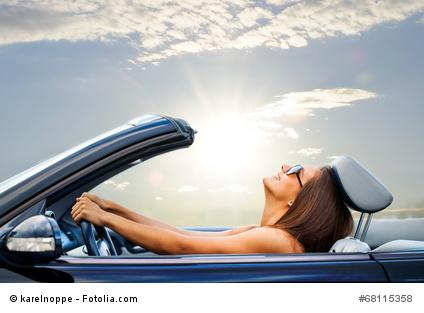 Richtig Sitzen im Auto