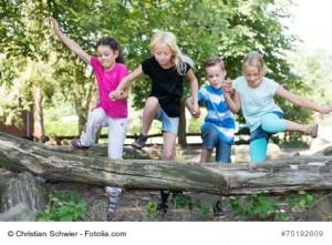 Training mit Kindern